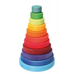 Duża kolorowa wieża 0+ Grimm's