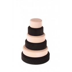 Mala czarno-biała wieża 1+ Grimm's