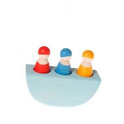 Troje przyjaciół na łódce, 1+, Grimm's