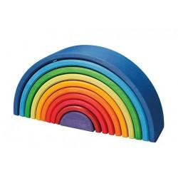 Kolorowa tęcza 10-elementowa 1+ Grimm's
