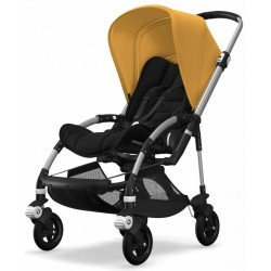 Bugaboo Bee5 Aluminium Black/Sunrise Yellow