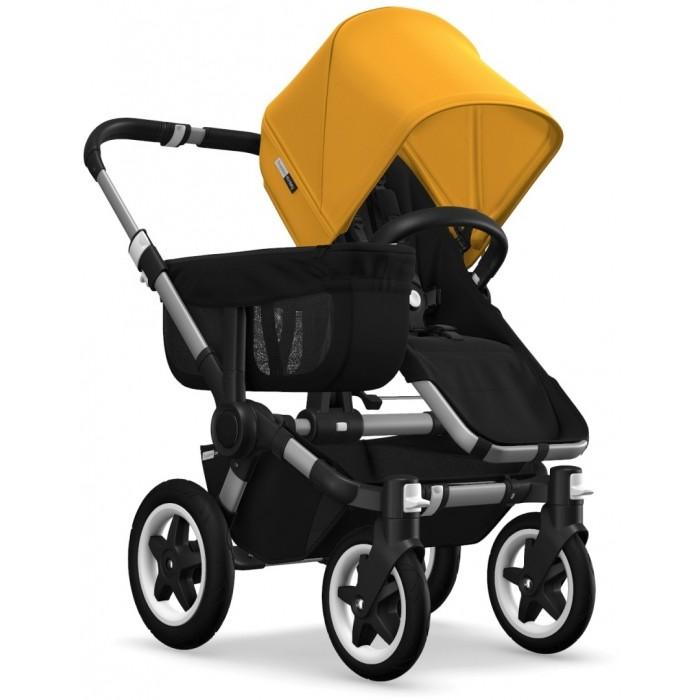Bugaboo Donkey2 Mono Aluminium Black/Sunrise Yellow