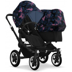 Bugaboo Donkey2 Duo Black/Birds