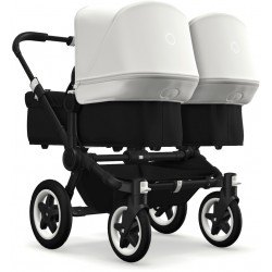 Bugaboo Donkey2 Twin Black Black/Fresh White