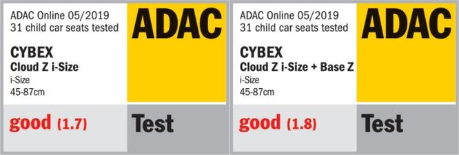 Cybex Cloud Z i-Size ADAC